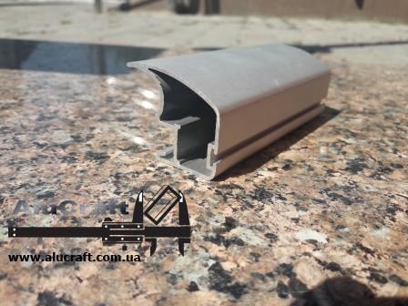 Профиль для шкафа купе | Вертикальная ручка А107