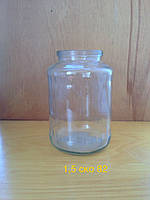 Стеклобанка 1,5 л СКО, ширина горловины 82 мм (8 штук в упаковке)