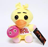 Мягкая плюшевая игрушка Чика 5 ночей с Фредди Аниматроники. Фнаф, фото 1