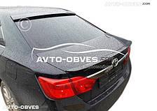 Задний козырек Тойота Камри (FLY, ABS-пластик)
