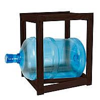 Подставка деревянная 1 бутыль тонированная