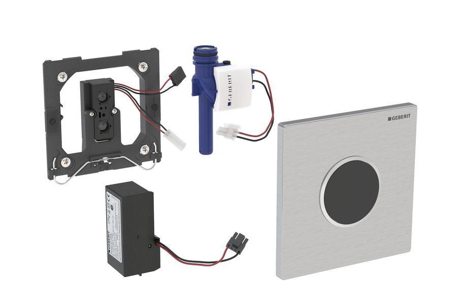 """Geberit HyTronic ИК привод смыва для писсуара, 230B, """"Sigma10"""", нерж. сталь"""
