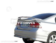 Спойлер для Хонда Сівік 2006-2012 седан під фарбування
