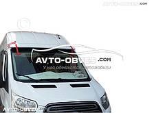 Козырек на лобовое стекло Форд Транзит 2014-... на герметик