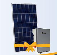 """Солнечная электростанция 15 кВт под """"Зеленый тариф"""", комплект Risen RSM60-6-280P Half-cell, инвертор Altek"""