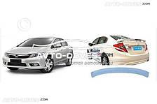 Спойлер Хонда Сівік 2013-2016 седан під фарбування Niken V1