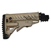 RBTK47FK+GLR16 Песочный приклад телескопический FAB для AK 47,полимер