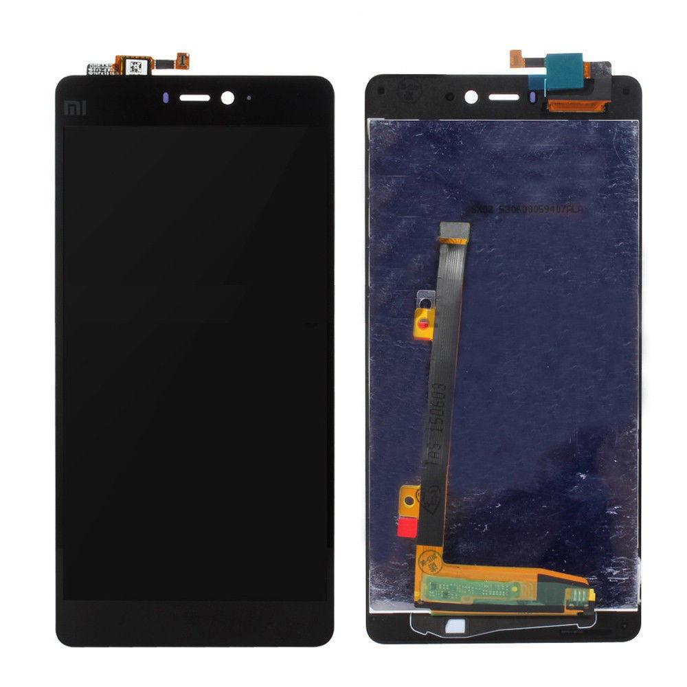 Дисплей для Xiaomi Mi4i с тачскрином черный Оригинал