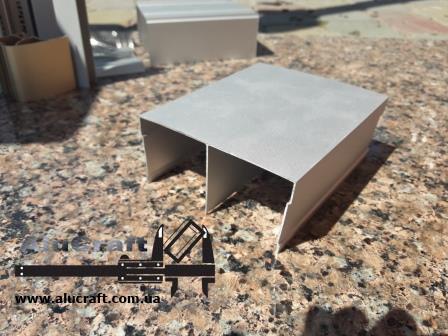 Направляющий профиль для шкафа купе | Верхняя рельса 104