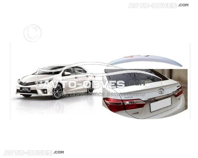 Спойлер Тойота Корола 2013-... под покраску Niken