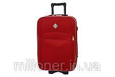 Комплект чемодан + кейс Bonro Style (средний) красный, фото 3