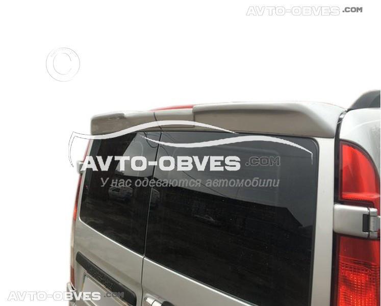Спойлер задний для Мерседес Виано 2003-2010 из 2 частей (на двух дверный вариант)