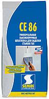 Шпаклевка для швов и трещин Semin CE-86 5кг