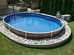 Можно ли вкапывать каркасный бассейн?