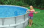 Чем почистить каркасный бассейн?
