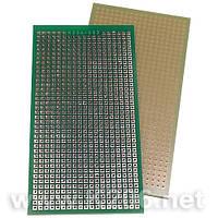 МАКЕТКА K206-053 Плата макетная 102 x 52 мм, односторонняя, зеленая маска