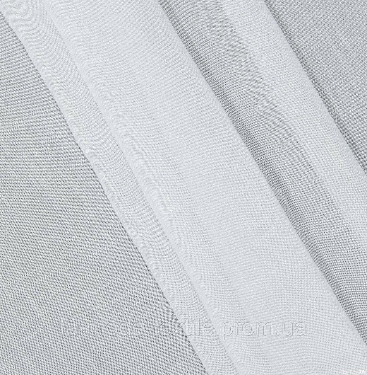 Гардина лен Испания белый в. 295 см