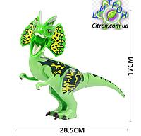 Динозавр Лего большой  Длина 28 см. Конструктор динозавр, фото 1