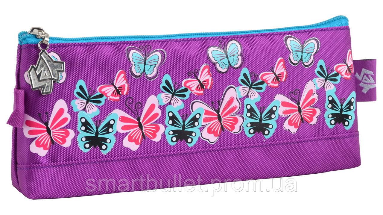 Пенал мягкий Butterfly purple 531820 YES