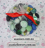 Декоративный стеклянный камень, MIX, фото 1