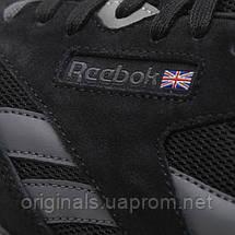 Мужские черные кроссовки Reebok Classic Nylon CM9993, фото 3