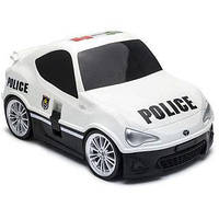 Чемодан машинка на колесах RIDAZ Toyota 86 Police, фото 1