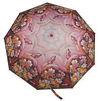 Женский симпатичный прочный зонтик автомат с ярким принтом KINGRAIN UMBRELLA  art. 1603 цветы  (102947), фото 1