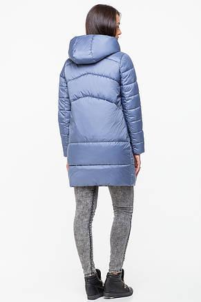 Куртка зимняя женская Kattaleya KTL-203 темно-голубая (#595) 46 размер, фото 2