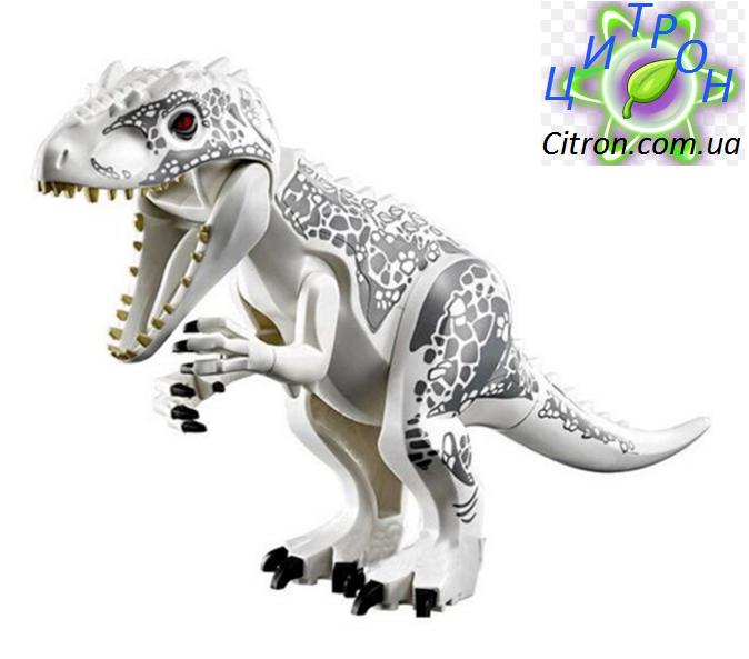 Динозавр Индоминус Лего большой  Длина 29 см. Конструктор динозавр