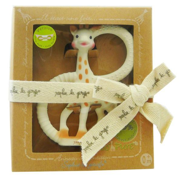 Girafe Sophie натуральный грызунок-прорезыватель