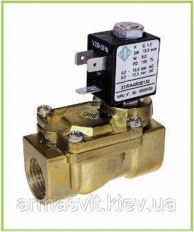 Электромагнитные клапаны для воды, пара 21WA3R0E130 G 1/2