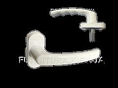 Оконная ручка Vorne алюминиевая белая (0203)