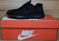 Кроссовки Nike Free Run 3.0 черного цвета