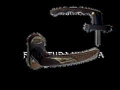 Оконная ручка Vorne алюминиевая коричневая (0203)