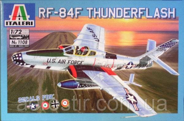 RF-84F Thunderflash 1/72 Italeri 1108