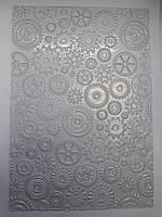 "Текстурный мат  для шоколада ""Шестерёнки"" Галетте -04004"