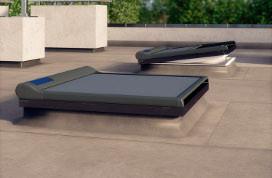 Маркиза (для окон типа F) Fakro AMZ/F I Solar 90х90 см