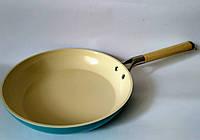 Сковорода Krauff с керамическим покрытием aquamarine 28 см 25-45-064, фото 1