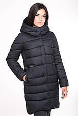 Куртка женская Kattaleya с меховыми карманами KTL-112 цвета черный cotton (#52), фото 3