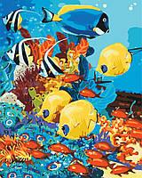 Картина по номерам - Морское царство