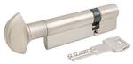 Цилиндр AGB (Италия) Scudo5000/95 мм, ручка-ключ, 40/55, мат.хром