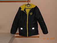 Детская куртка 128 на флисовой подкладке John Banner, фото 1