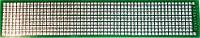 МАКЕТКА K206-044 / CRS-044 Плата макетная 150 х 29 мм, односторонняя, зеленая маска