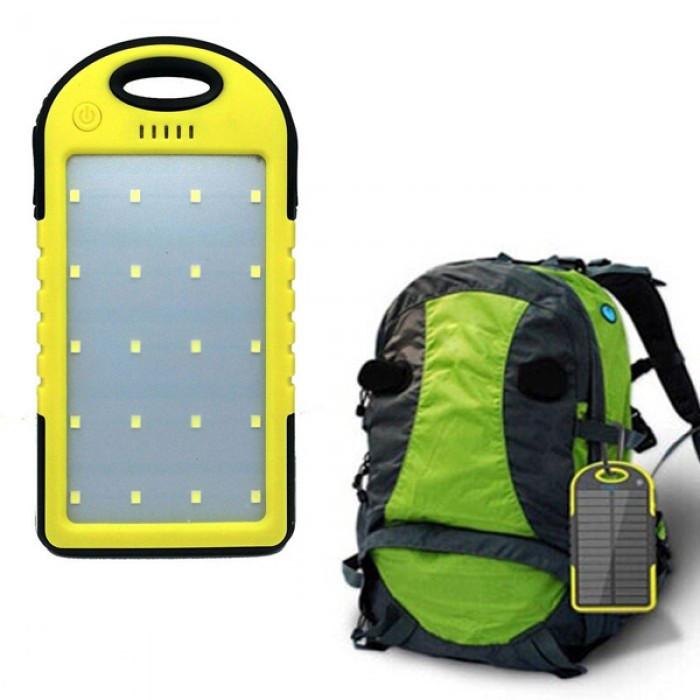 Зарядное устройство power bank 20000 mah solar charger - фото 5
