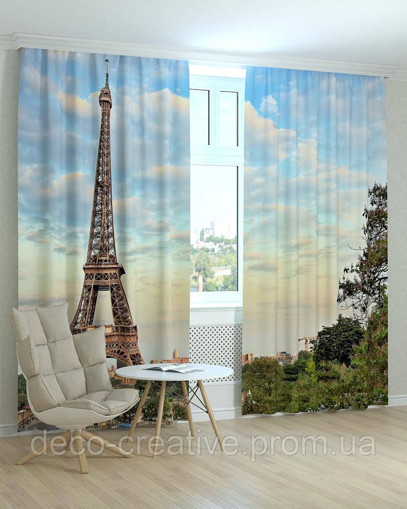 Фотошторы Эйфелева башня в Париже