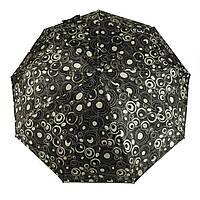Женский симпатичный прочный зонтик автомат Frai REGEN  art. 565 черный/белый (102937), фото 1