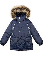 Зимняя куртка-паркадля мальчиков Lenne Storm 18341-229. Размер 122.