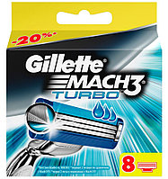 "Картридж Gillette ""Mach3 Turbo"" (8), фото 1"