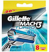 "Картридж Gillette ""Mach3 Turbo"" (8), фото 1"