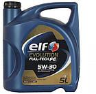 Elf Evolution Full-Tech FE 5W-30 5л, фото 2